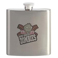 Bacon Addicted Zombies Flask