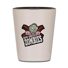 Bacon Addicted Zombies Shot Glass