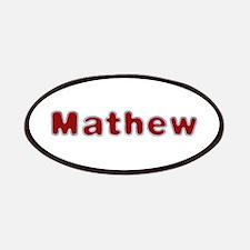 Mathew Santa Fur Patch