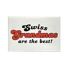 Swiss Grandmas are the Best Rectangle Magnet