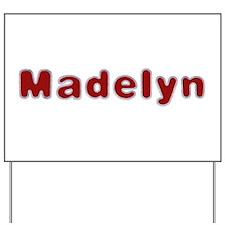 Madelyn Santa Fur Yard Sign