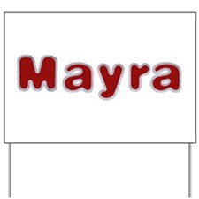 Mayra Santa Fur Yard Sign