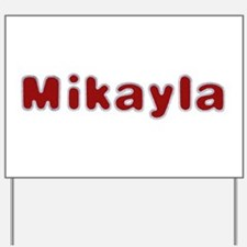 Mikayla Santa Fur Yard Sign