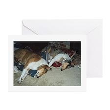 Sleepy Collie Greeting Cards (Pk of 10)