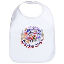 Rock and Roll Junkie Bib