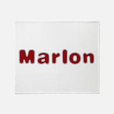 Marlon Santa Fur Throw Blanket