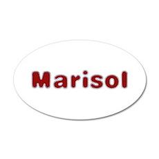 Marisol Santa Fur Wall Decal