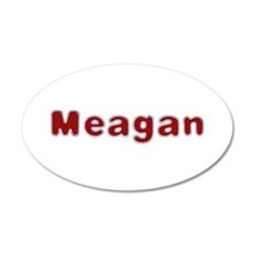Meagan Santa Fur Wall Decal