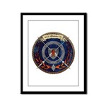 USS-OKC Framed Panel Print
