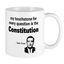 Ted Cruz - Constitution Quote Small Mug