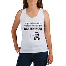 Ted Cruz - Constitution Quote Women's Tank Top