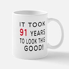 It Took 91 Birthday Designs Mug