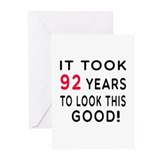 92 year old Greeting Cards