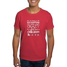 Crazy Wilderness Dude T-Shirt