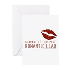 100% Romantic Lead Greeting Cards (Pk of 10)
