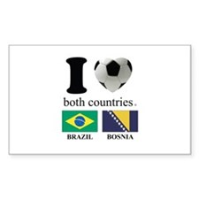 BRAZIL-BOSNIA Decal