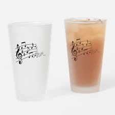 Musical Symbols Drinking Glass