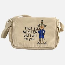 Mr. Old Fart Messenger Bag