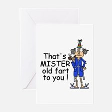 Mr. Old Fart Greeting Cards (Pk of 10)