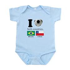 BRAZIL-CHILE Infant Bodysuit