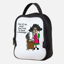 Out of My Mind Neoprene Lunch Bag