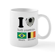 BRAZIL-BELGIUM Mug