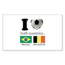 BRAZIL-BELGIUM Decal