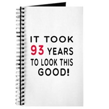 It Took 93 Birthday Designs Journal
