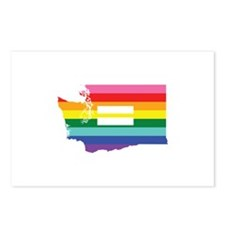 Washington equality Postcards (Package of 8)