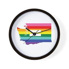 Washington equality Wall Clock