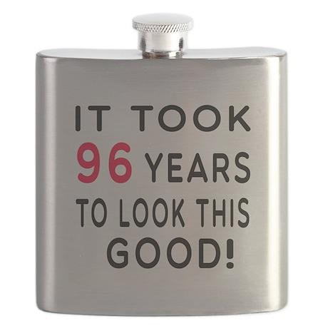 It Took 96 Birthday Designs Flask