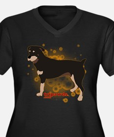 Tripawd Rottweiler Plus Size T-Shirt
