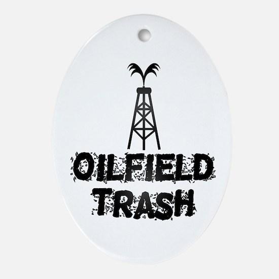 Oilfield Trash Ornament (Oval)