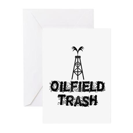 Oilfield Trash Greeting Cards