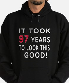 It Took 97 Birthday Designs Hoodie