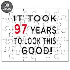 It Took 97 Birthday Designs Puzzle