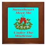 Sweetheart Meet Me Under The Framed Tile