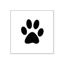 Dog PawPrints Sticker