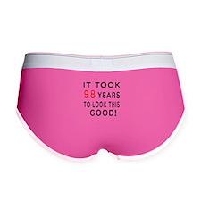 It Took 98 Birthday Designs Women's Boy Brief