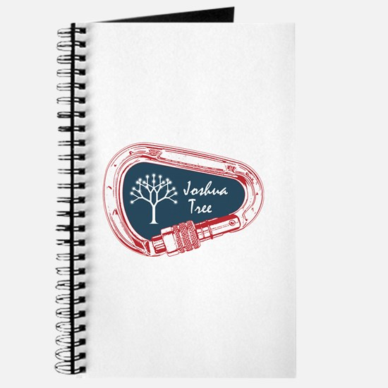 Joshua Tree Climbing Carabiner Journal
