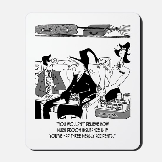 Insurance Cartoon 5221 Mousepad