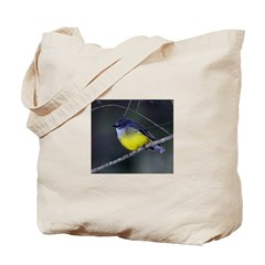 Yellow Robin Tote Bag