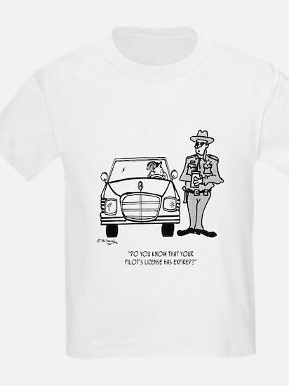 Pilot Cartoon 5214 T-Shirt
