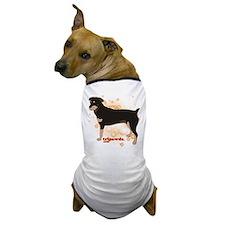 Tripawd Rottweiler Dog T-Shirt