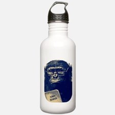 Chimp Reading Human Behavior Water Bottle
