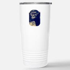 Chimp Reading Human Behavior Travel Mug