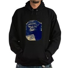 Chimp Reading Human Behavior Hoodie