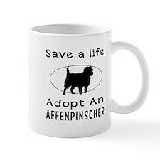 Adopt An Affenpinscher Dog Mug