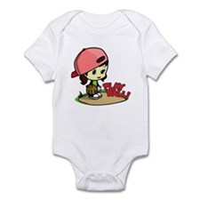 Baseball/Softball Girl Infant Bodysuit