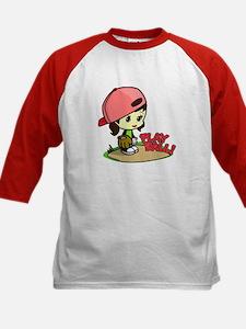 Baseball/Softball Girl Kids Baseball Jersey